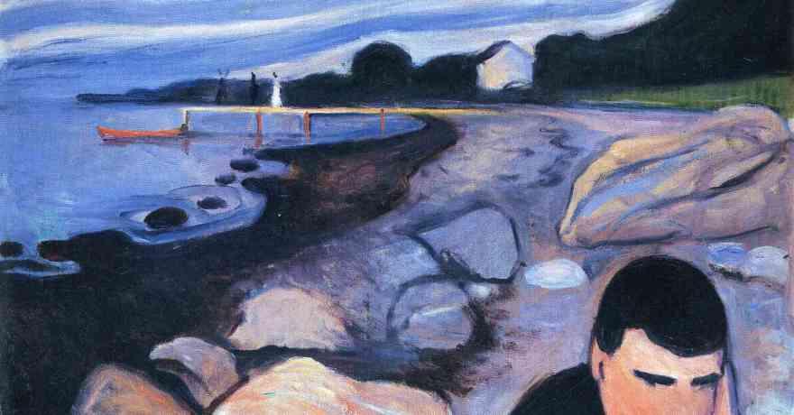 Melancholy (1892) by Edvard Munch