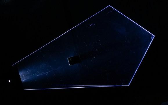 Ejemplo de Plexy shape diamante con modificación en centro