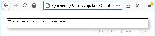 mostrar foto esférica, Firefox 1