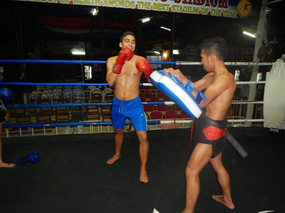 Kick boxing class - Chiang Mai