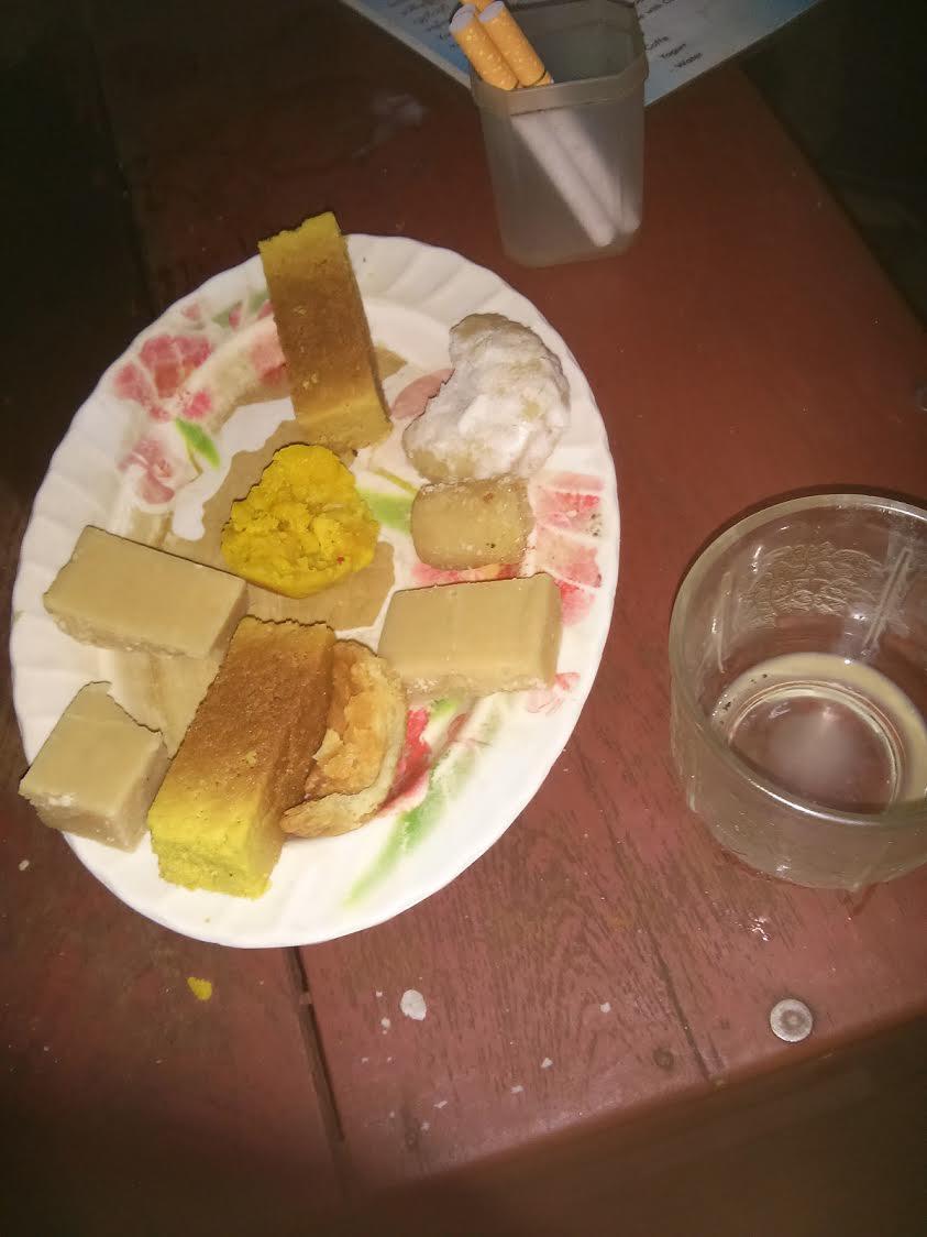 Te birmano y pastas