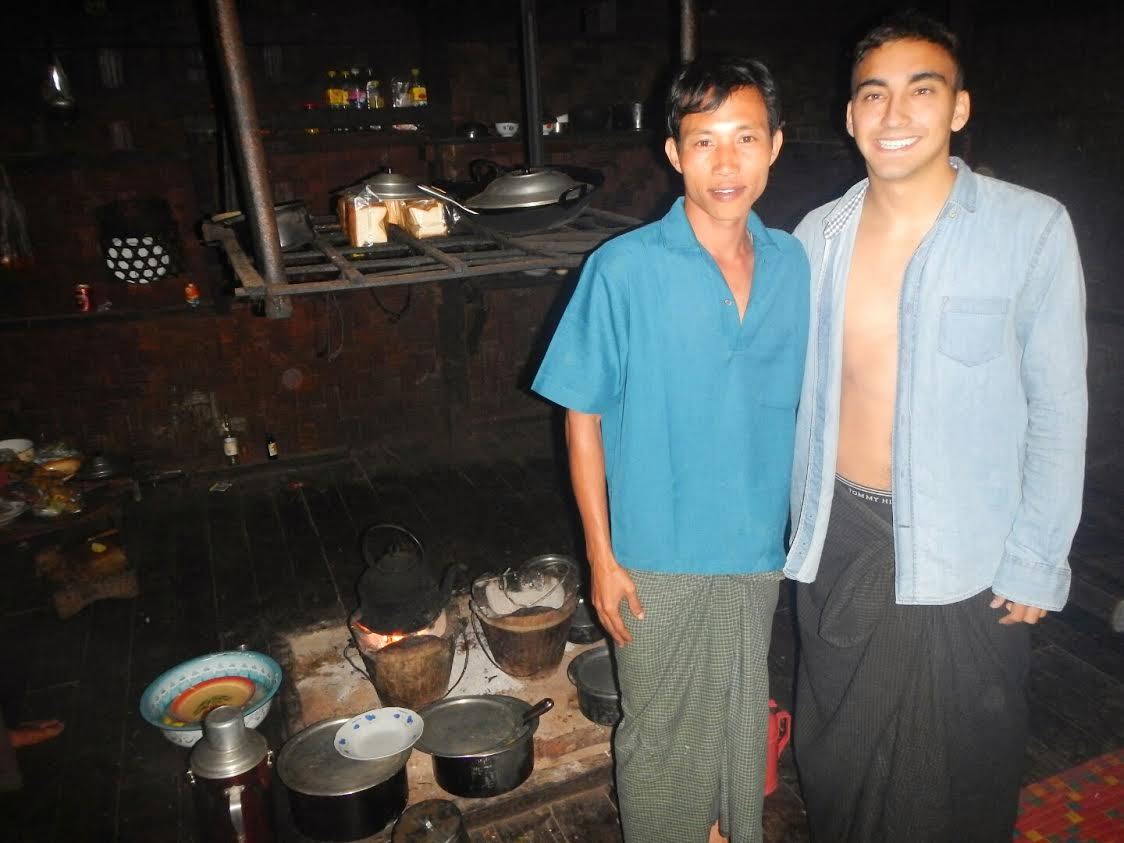 Guía trekking birmano