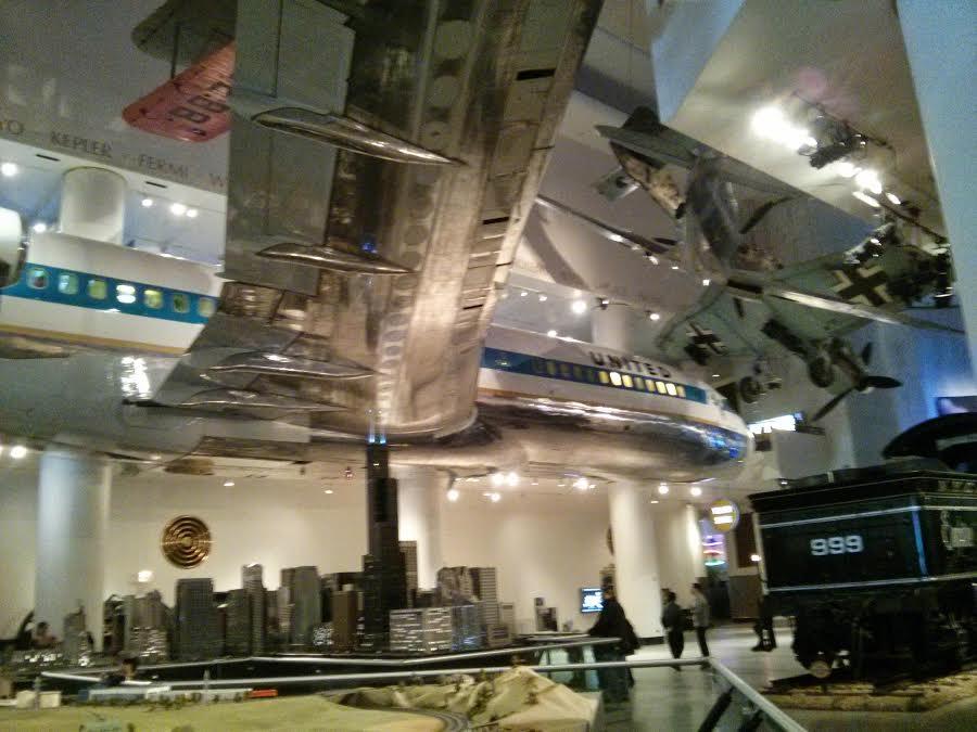 Avión Museo de Ciencia de Chicago
