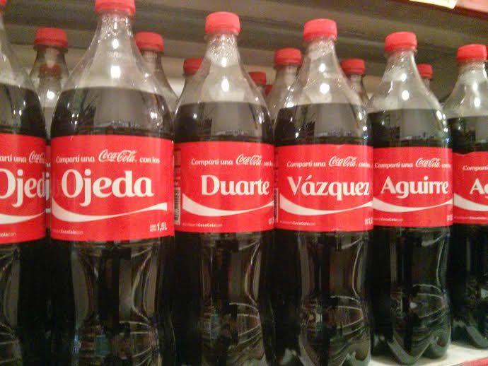 Coca Cola Apellidos Argentina