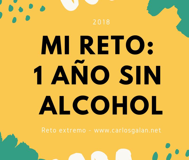 Mi reto 2018: un año sin alcohol