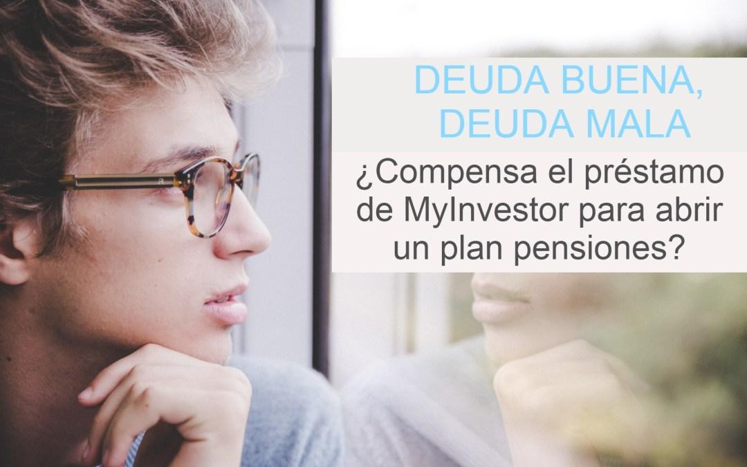 Préstamo Myinvestor para invertir en plan de pensión [Mi opinión]