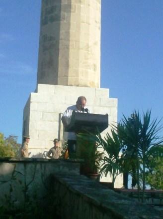Lázaro Expósito expresó la decisión de los cubanos de defender la Soberanía Patria a cualquier precio y la solidaridad incondicional con el pueblo de Venezuela