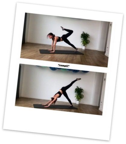 Coreografía de Pilates en osteon 2019