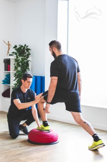 Primera Sesión de Fisioterapia Especializada Carlos López Cubas ejercicio terapéutico