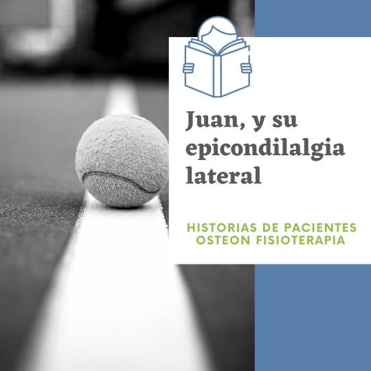 Juan y su epicondilalgia lateral