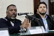 Ronaldo Martins, secretário geral do Sindicato dos Trabalhadores dos Correios do Rio de Janeiro.