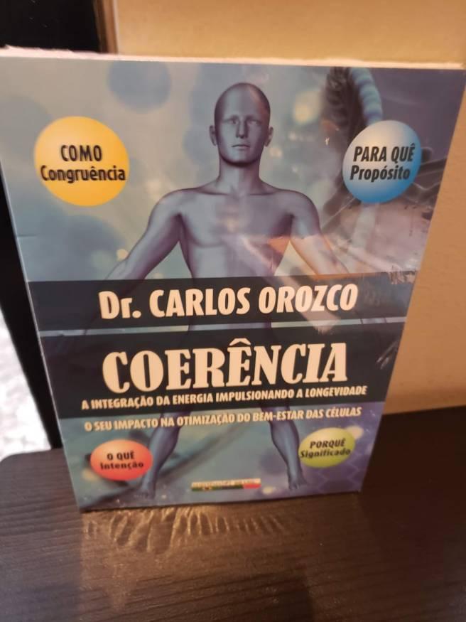 Libro de Coherencia escrito por Carlos Orozco, 2019.