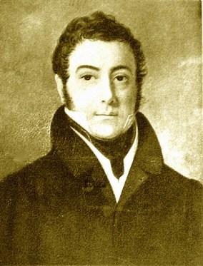 San Martín en 1828