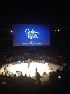 Carlos Rebate en el Congreso de Mentes Brillantes