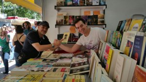 Feria del libro con Fermín