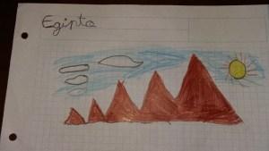 Egipto por Lucía