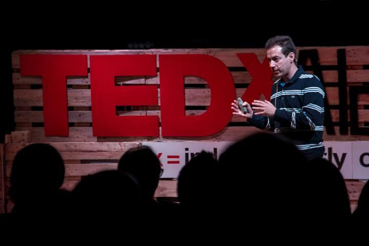 Carlos Rebate en TEDxAlcobendas