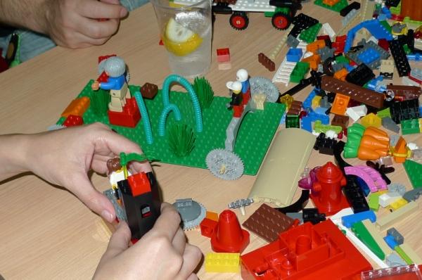 Construcción de modelos de negocio en Lego