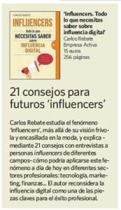Influencers Carlos Rebate