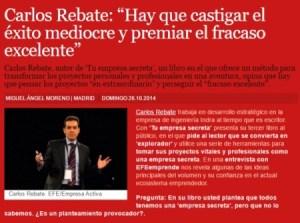 EFE Carlos Rebate