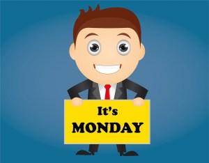 Felicidad en el trabajo, es lunes!
