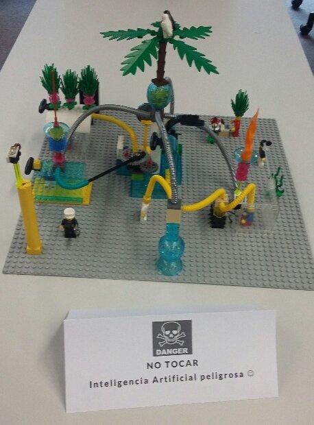 Inteligencia Artificial con Lego