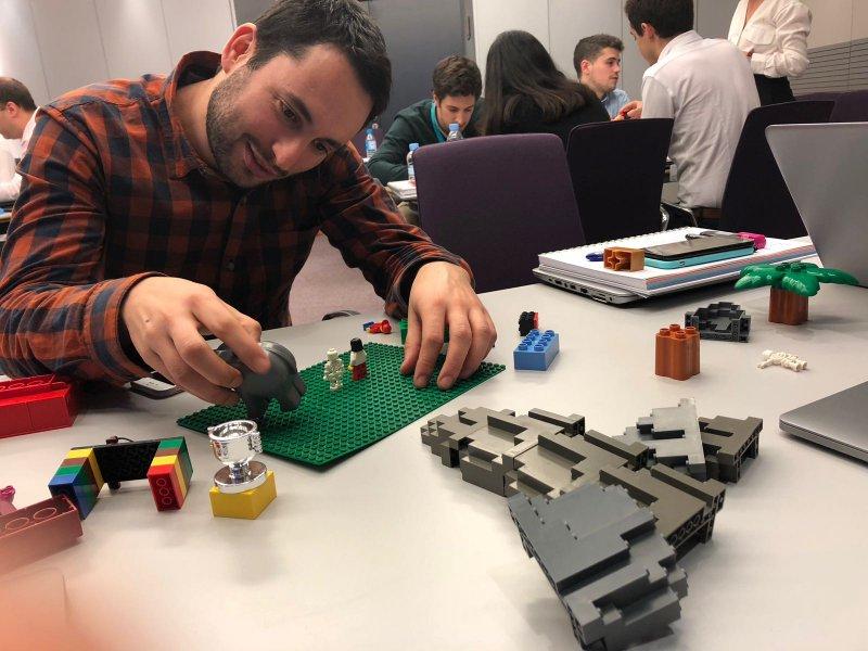 Lego y creatividad
