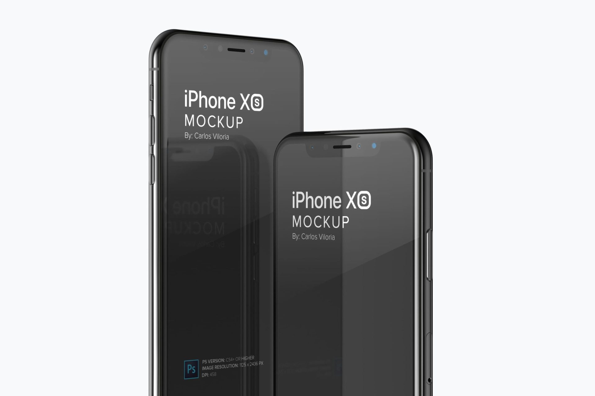 Free Mockup: iPhone XS to Display UI Apps for iOS