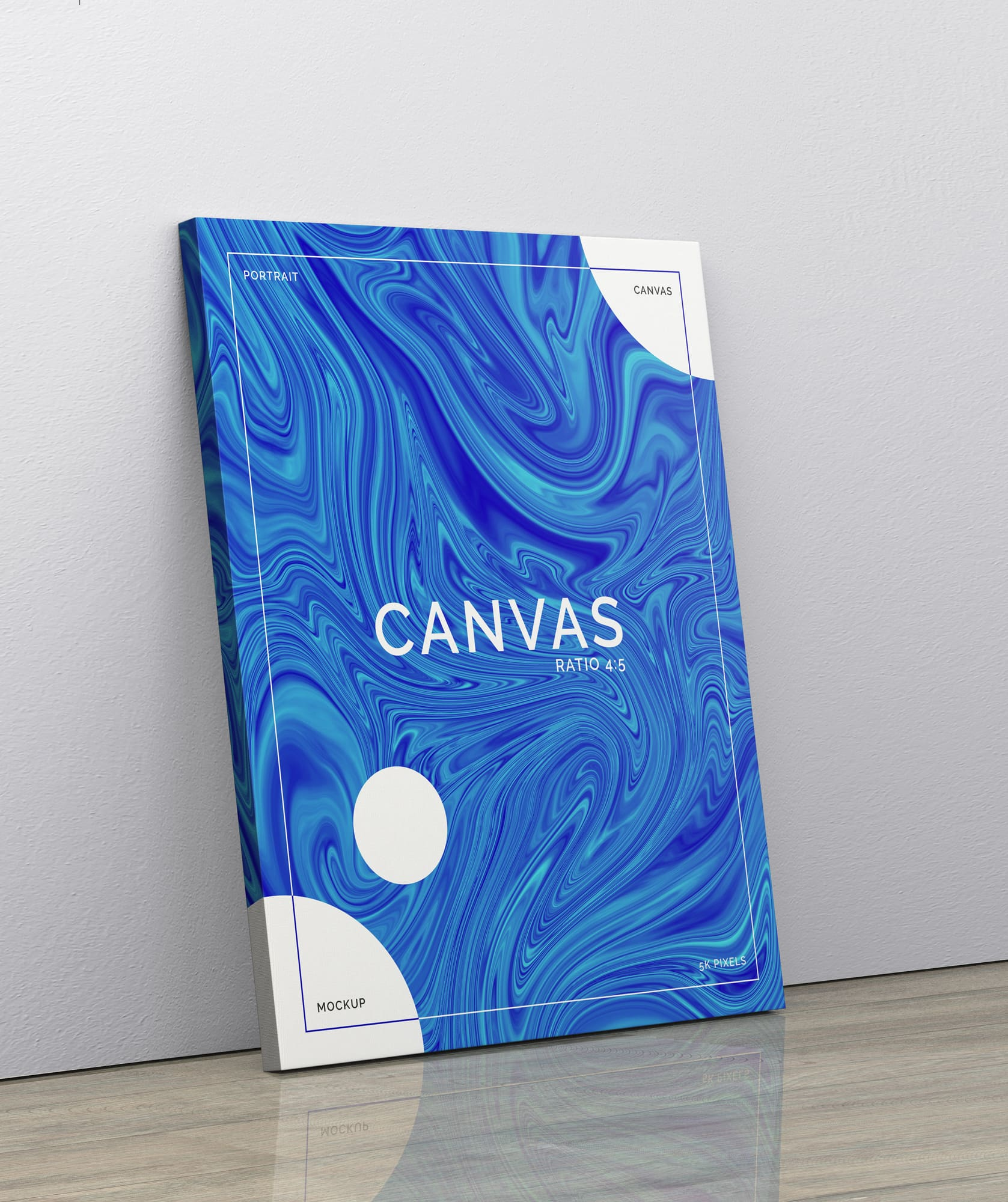 Canvas Mockup Pack for Photoshop