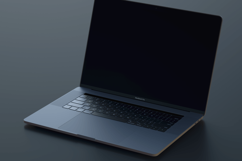 Macbook Pro mockup for Sketch & Photoshop 4K