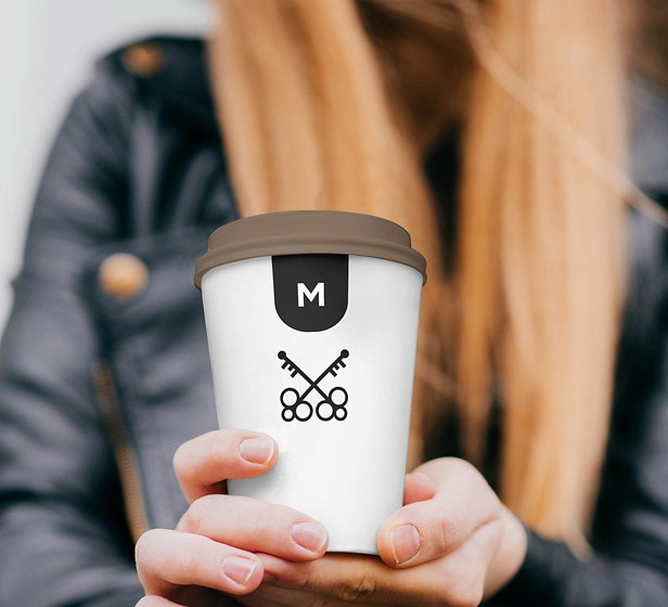 Free Coffee Cup Mockup for Photoshop