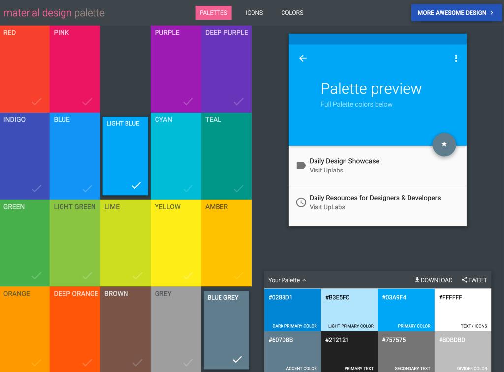 The Most Interesting Color Palette Generators - Material Palette