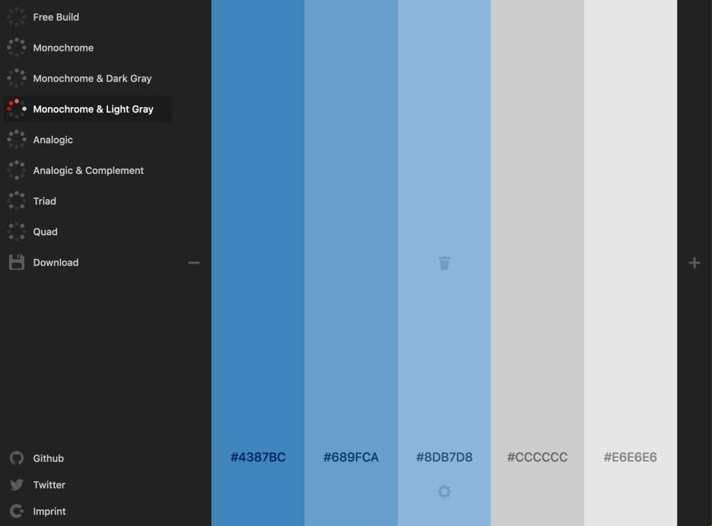 The Most Interesting Color Palette Generators - Colour Code