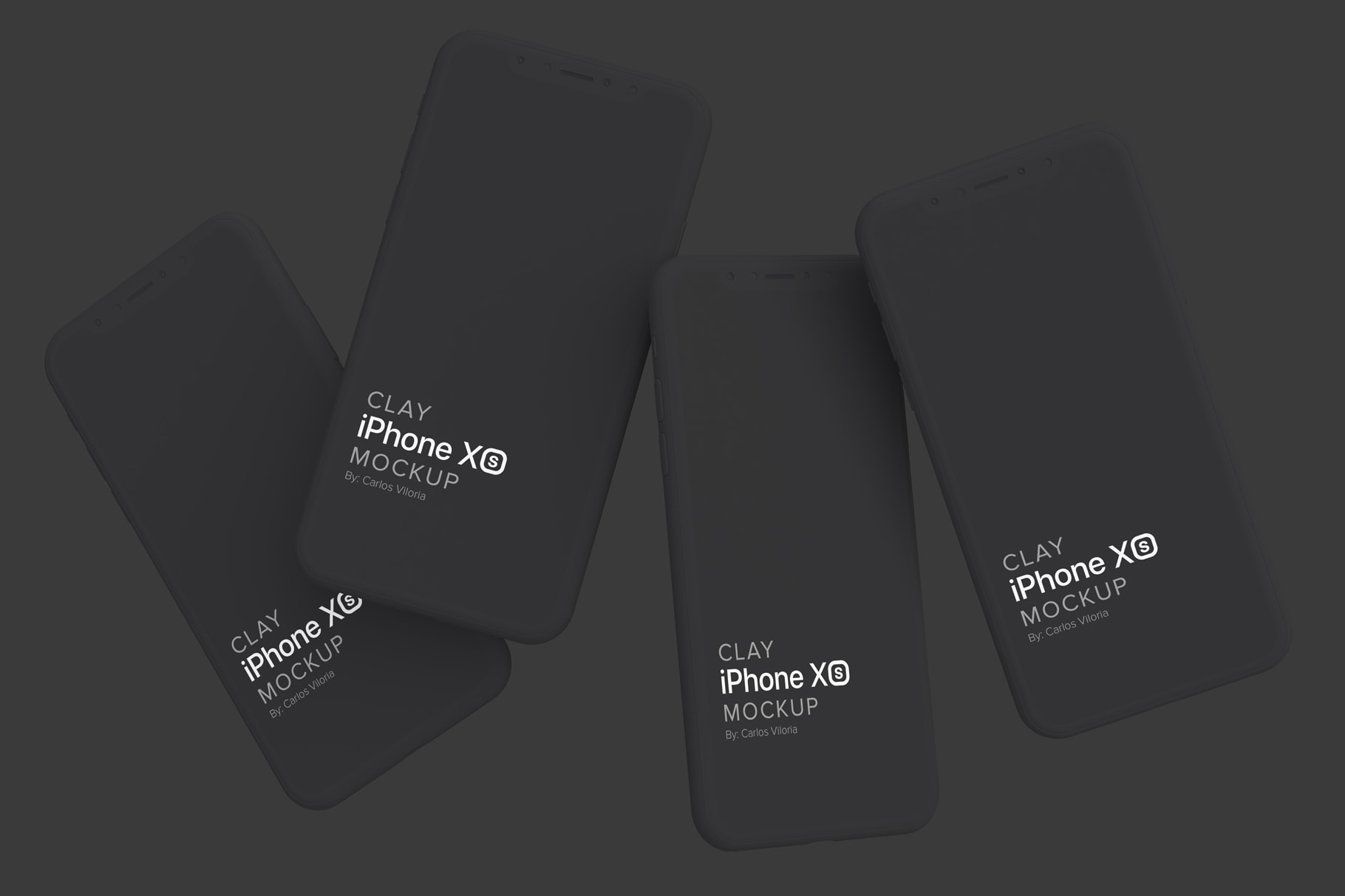 iPhone XS Mockup for Apps