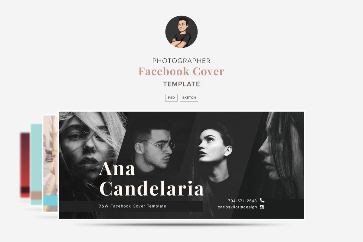 Facebook Cover Templates 01 for Photographers