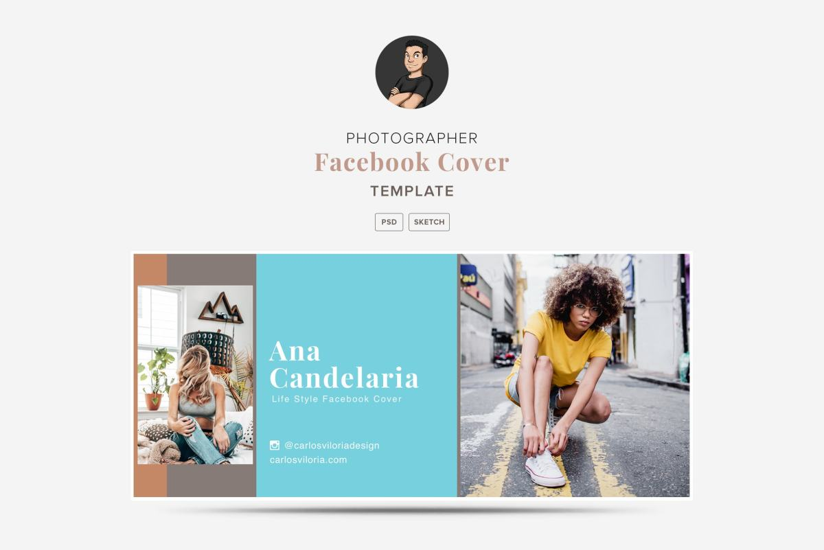 Facebook Cover Template 02 for Photography