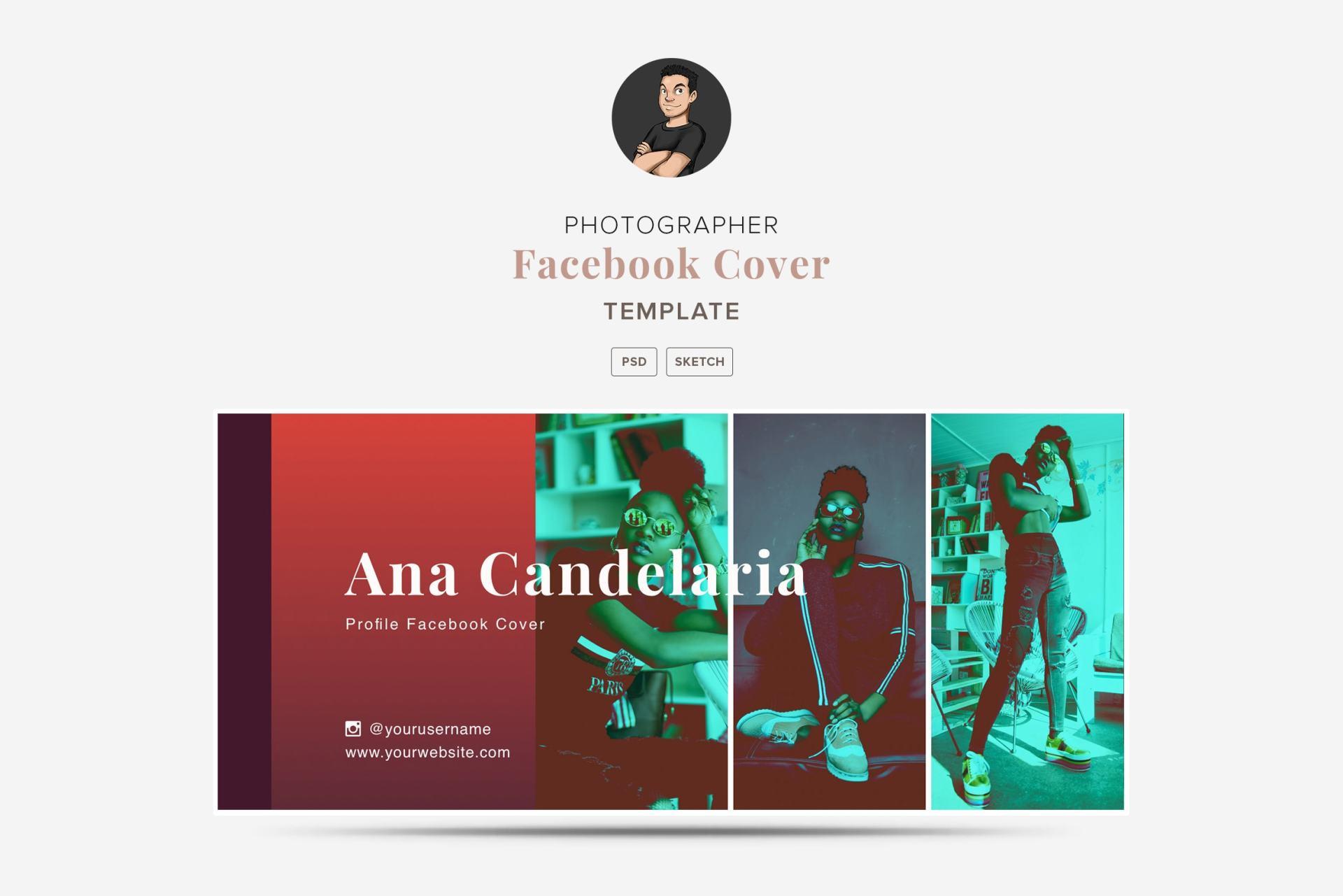 Creatives Facebook Cover Templates