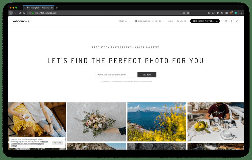 Top Free Stock Photo Sites - Kaboompics