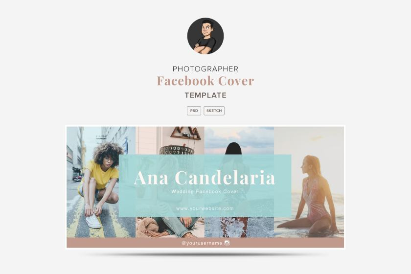 Ana Candelaria Facebook Cover Templates