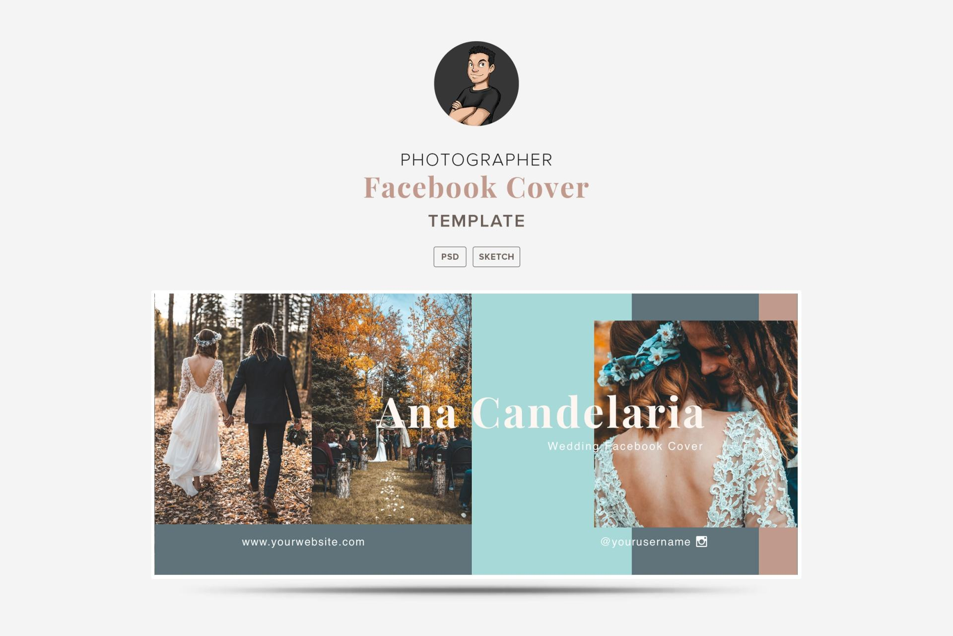 Travel Facebook Cover Template