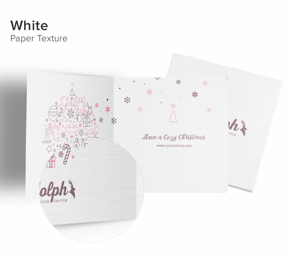 Greeting Card 5x5 Mockup 03-white