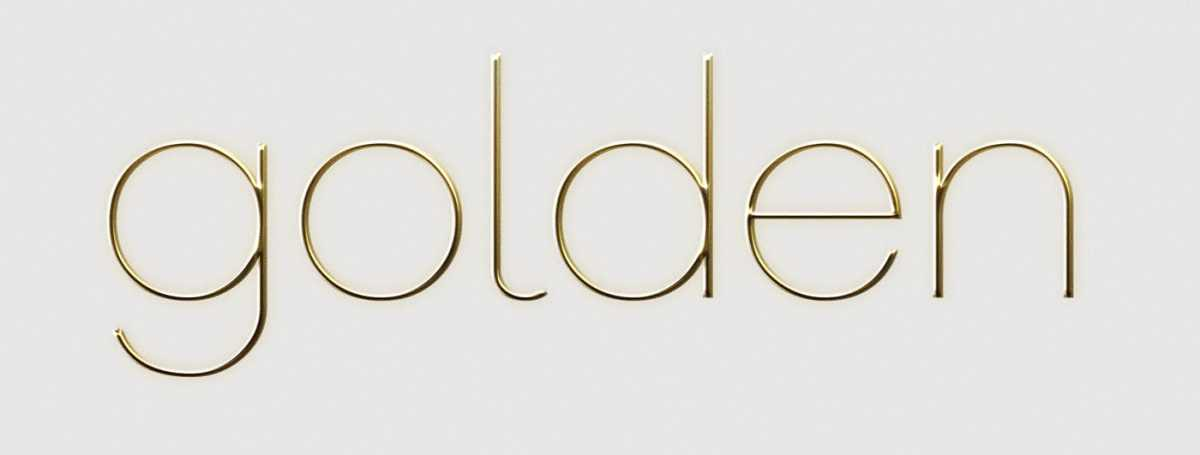 Free Gold Text Effect For Photoshop