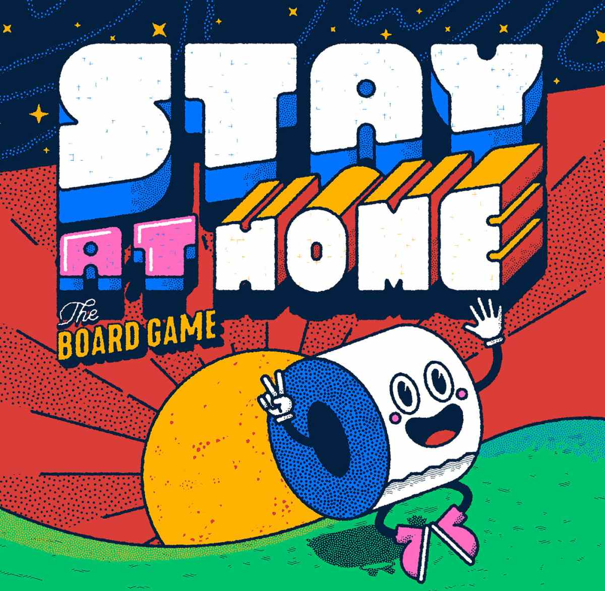 Freebie Stay At Home Board Game