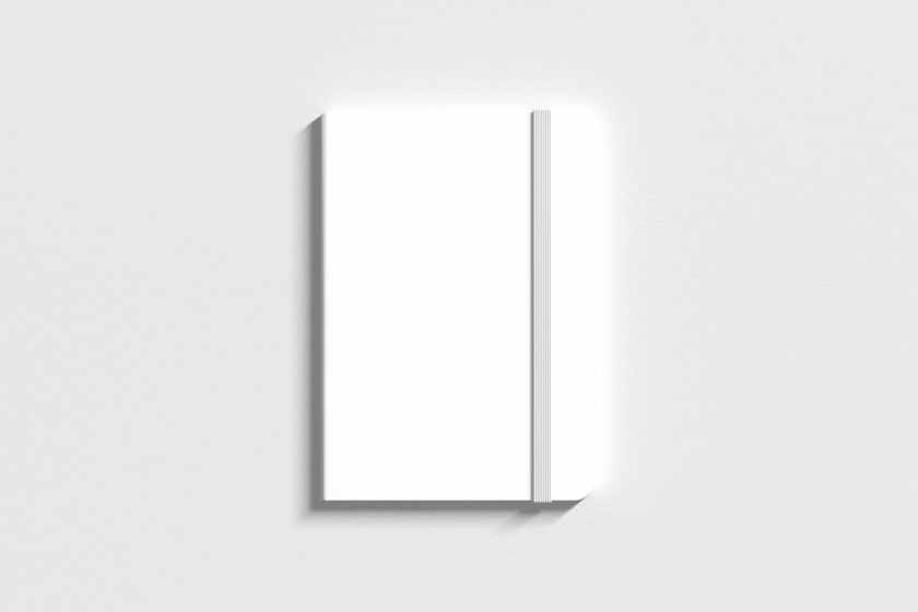 stationery Notebook mockup