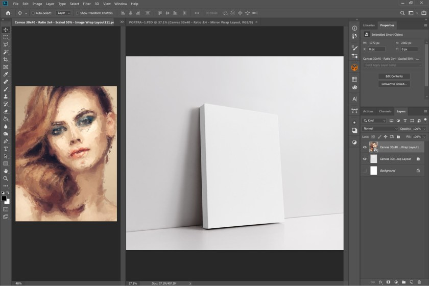Portrait-Canvas-Ratio-3×4-Mockup-02-ps-5k-1280