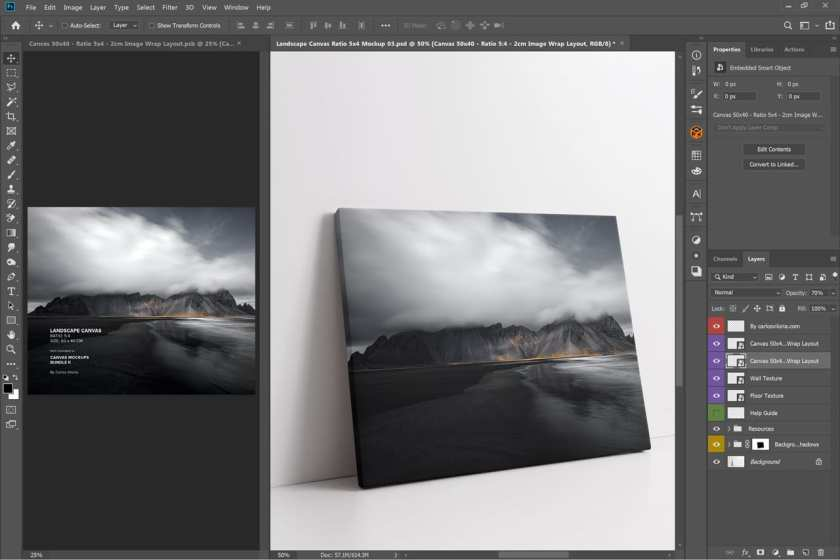 Landscape-Canvas-Ratio-5×4-Mockup-03-photoshop