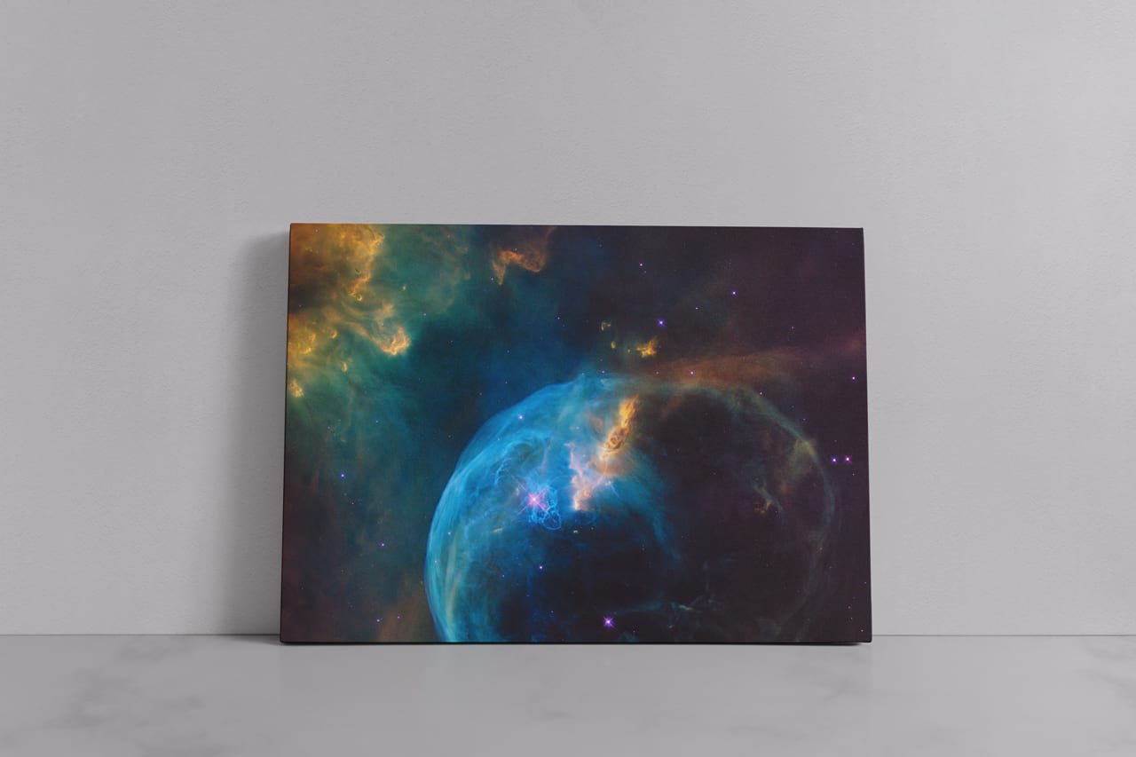 Large Landscape Canvas Ratio 7x5 Mockup