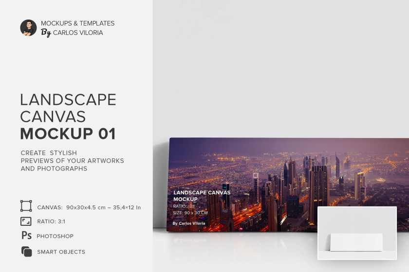 art-wall-Landscape Canvas Ratio 3×1 Mockup 01-cover-by-carlosviloria.com (2)