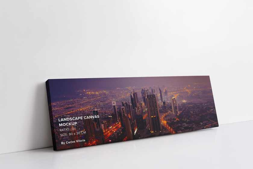 art-wall-Landscape Canvas Ratio 3×1 Mockup 02-01-by-carlosviloria.com