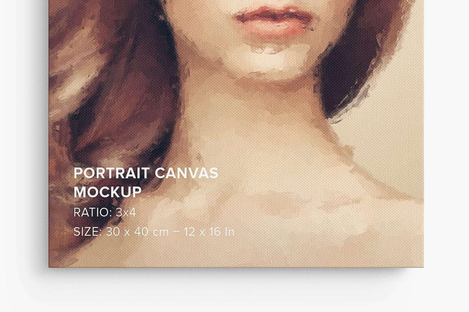 Canvas Ratio 3x4 Mockup Bundle